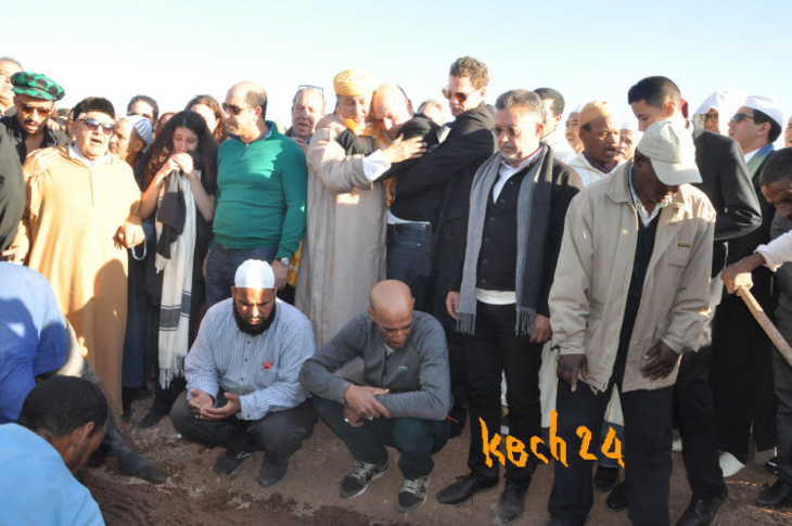 تفاصيل تشييع جثمان ليلى العلوي إلى مثواه الأخيرة بمقبرة الشهداء بمراكش + صور