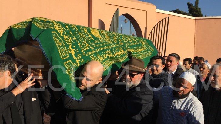 عاجل: وصول جثمان الراحلة ليلى العلوي إلى مقبرة الإمام السهيلي بجماعة المشور القصبة بمراكش