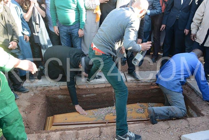جنازة ليلى العلوي بمراكش توحد