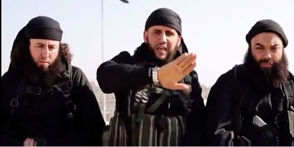 """تنظيم """"داعش"""" ينتقد الزوايا المغربية وحفل الولاء وحزب العدالة والتنمية في اشرطة فيديو جديدة"""