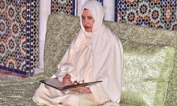 للا مريم تترأس حفلا دينيا إحياء للذكرى السابعة عشرة لوفاة المغفور له الحسن الثاني
