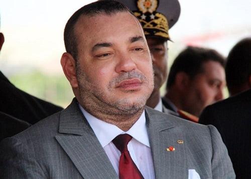 برقية تعزية ومواساة من الملك محمد السادس إلى والدي المرحومة ليلى العلوي