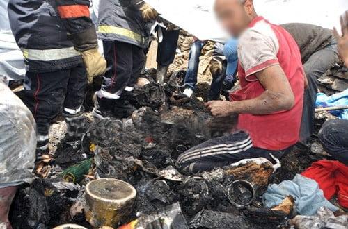 عاجل : العثور على جثتين متفحمتين بعد اخماد حريق بورشة حدادة بضواحي شفشاون