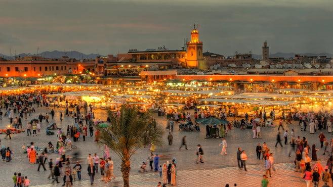 المؤهلات السياحية لمدينة مراكش بعيون إيرلندية