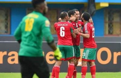 المنتخب المغربي يسحق رواندا برباعية ويودع منافسات كأس إفريقيا للمحليين