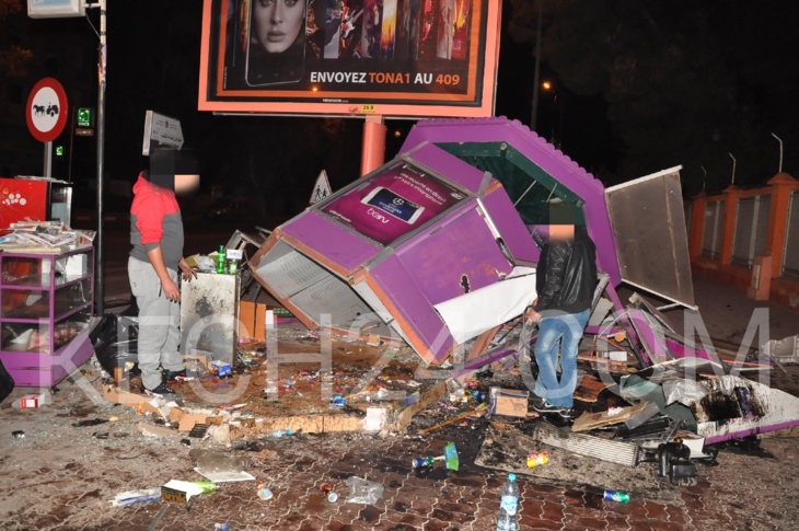 تفاصيل وصور حصرية : لحادث اصطدام سيارة من نوع