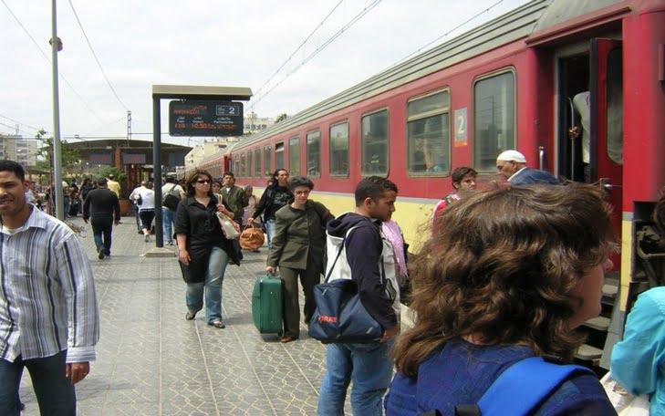 عطل بمحرك قطار قادم إلى مراكش يخلف موجة هلع وخوف في صفوف المسافرين