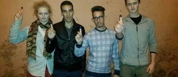 السلطات الامنية بمراكش تخلي سبيل انفصاليين بعد 17 ساعة من الاستنطاق + صورة