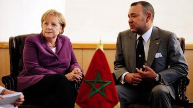 الملك محمد السادس يتباحث هاتفيا مع المستشارة الألمانية أنجيلا ميركل