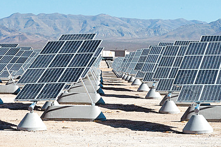 الاعلان عن إحداث محطة للطاقة الشمسية الضوئية ضواحي مراكش