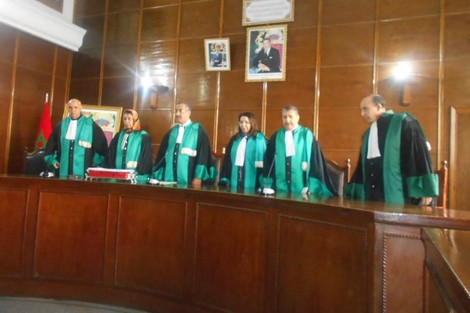 افتتاح السنة القضائية الجديدة بمراكش
