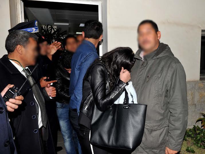 اعتقال 13 شخصا من بينهم قاصرتين إثر مداهمة ليلية لمنزل معد للدعارة