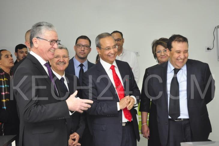وزير الصحة الحسين الوردي يشرف على تدشين