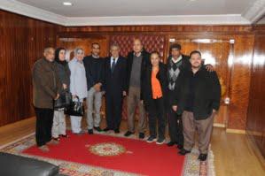 السيد الوالي عامل إقليم آسفي يعقد لقاء تعارفي مع المجلس الإقليمي للمجتمع المدني بآسفي
