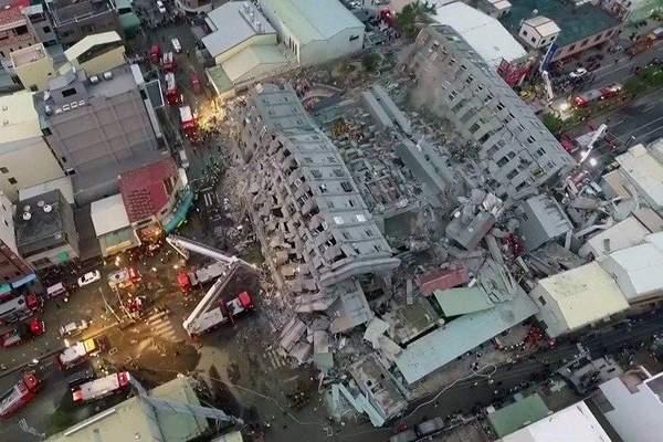 ارتفاع عدد قتلى زلزال تايوان إلى 35 شخصا