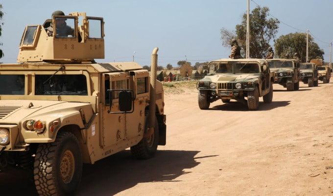 الجيش المغربي يستعد للتدخل بريا ضد
