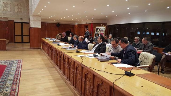 المجلس الجماعي لمراكش يعقد الجلسة الثانية من دورة فبراير وهذه اهم النقاط المطروحة