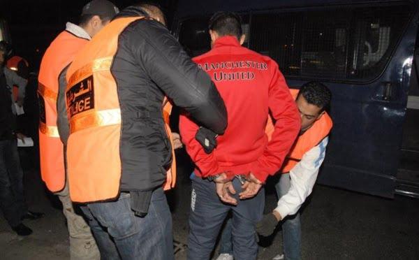 توقيف 1616 شخصا في يوم واحد بالمغرب