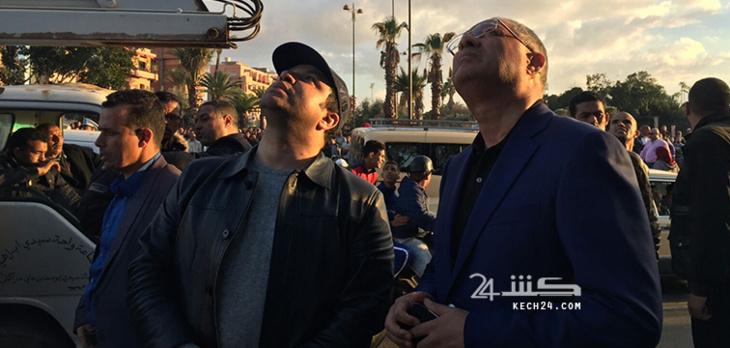 عاجل : والي جهة مراكش اسفي يحل بجيليز لمعاينة