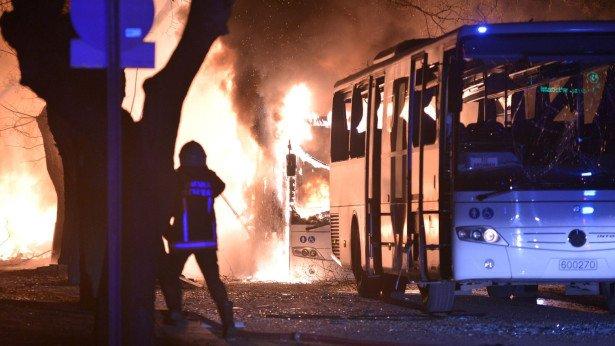 ارتفاع حصيلة تفجير العاصمة التركية أنقرة إلى 28 قتيلا و61 جريحا