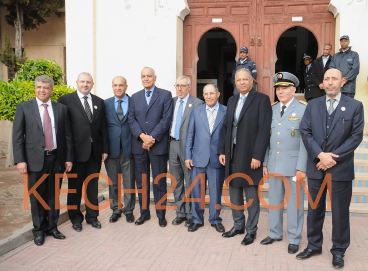 حفل تنصيب عبد القادر لطفي رئيساً أولاً للمحكمة الابتدائية بمراكش + صور حصرية
