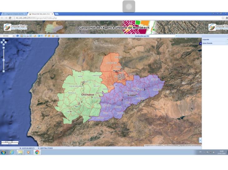 الوكالة الحضرية لمراكش تعرض وثائق التعمير على موقعها الالكتروني