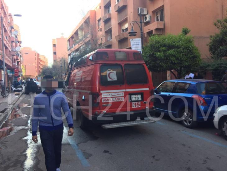عاجل: اندلاع حريق بإحدى الإقامات السكنية بحي جليز بمراكش