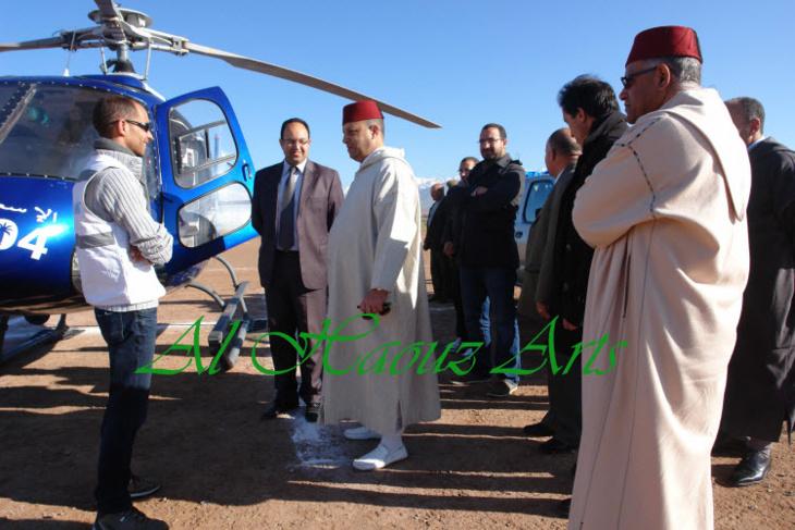 سلطات الحوز تدفع بطاقم طبي إلى دوار أمنزال بجماعة ستي فاظمة والبادرة استفاد منها 160 مواطنا