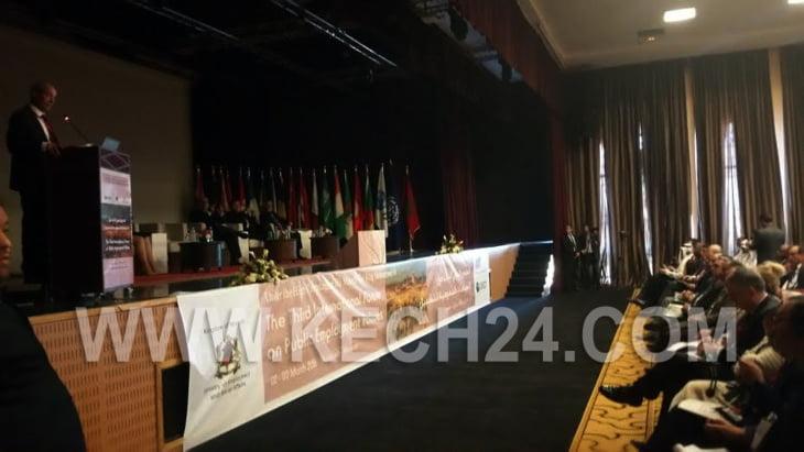 انقطاع التيار الكهربائي أثناء كلمة لوزير التشغيل في منتدى السياسات العمومية بمراكش