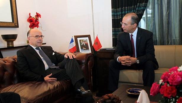 وزير الداخلية المغربي يلتقي نظيره الفرنسي في جلسة عمل بباريس
