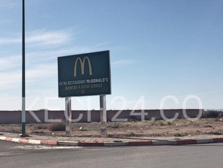 قريباً مطعم ماكدونالدز جديد بهذا الحي بمراكش