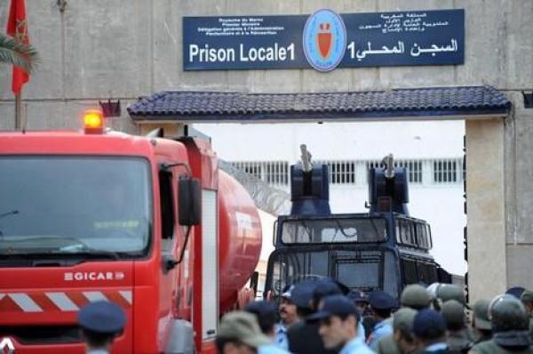 سجناء منتمين إلى مجموعة