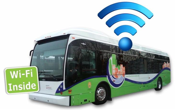 العكَوبة لمراكش: ربط حافلات النقل الحضري بفاس بخدمة الأنترنيت