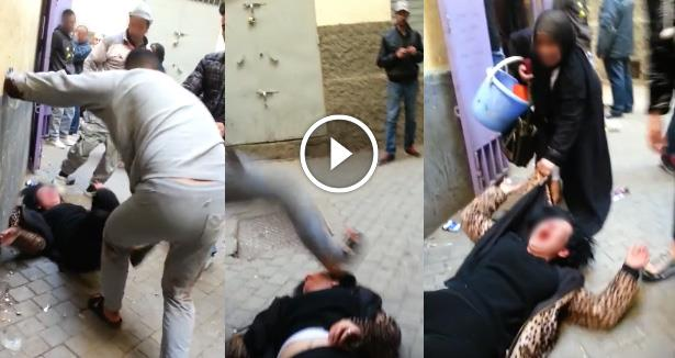هذه عقوبة شخص أوسع زوجته ضربا في الشارع العام