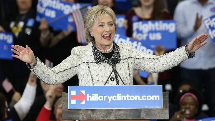 هيلاري كلينتون تفوز بفارق كبيرعن منافسها في لانتخابات الامريكية في لويزيانا