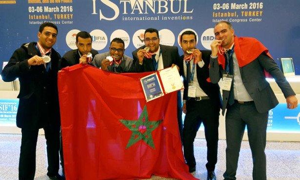 مخترعون مغاربة يتوجون بأربع ميداليات في المعرض الدولي للاختراعات باسطنبول