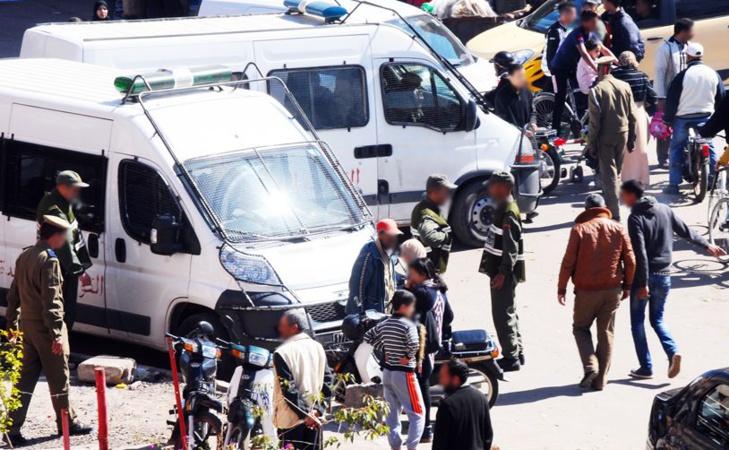 إتهامات لقائد بمراكش بالإعتداء وتعنيف أفراد أسرة أثناء تنفيذ عملية هدم بمقاطعة جيليز