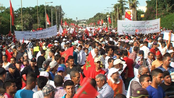 عاجل: المغاربة يحتجون ضد بان كي مون في مسيرة وطنية بالرباط في هذا التاريخ