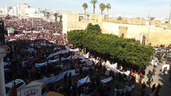 أزيد من 3 ملايين مشارك في المسيرة الشعبية بالرباط