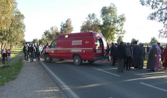 إصابة 17 شخصا إثر إنقلاب سيارة متوجة إلى مسيرة الرباط + فيديـو