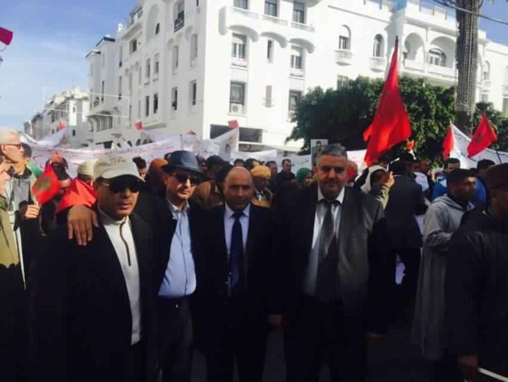 أزيد من 3000 مشارك من إقليم شيشاوة في مسيرة الرباط ضد موقف