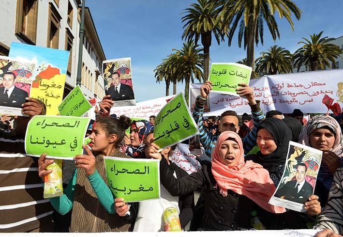 مشاركة 40 جمعية ممثلة لإقليم قلعة السراغنة بمسيرة التنديد ضد تصريحات بان كيمون