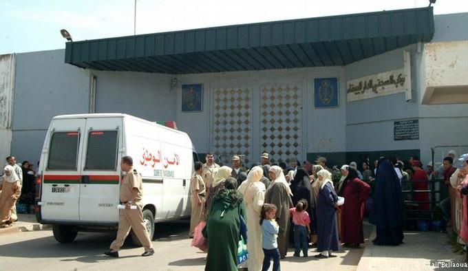 مساجين يضربون عن الطعام تضامنا مع المشاركين في مسيرة الوحدة الترابية