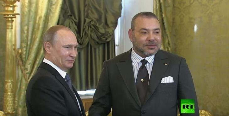 القمة الروسية المغربية في موسكو تدعو إلى إطلاق حوار مباشر شامل لحل الأزمة السورية