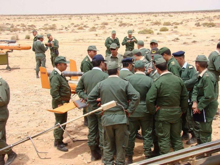 الجيش المغربي يرفع درجة التأهب على مستوى جميع النقاط الحدودية
