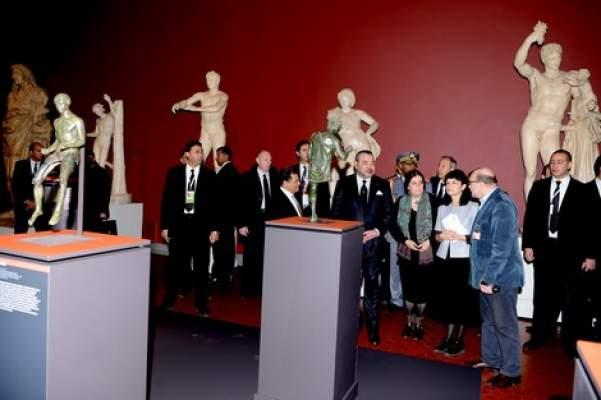 الملك يدشن معرضا بموسكو للتعريف بالتاريخ العريق والغني للمغرب