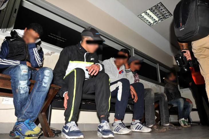 إيقاف 8 أشخاص اثناء تصوير مشاهد عنيفة بهدف ترويجها على الفبسبوك