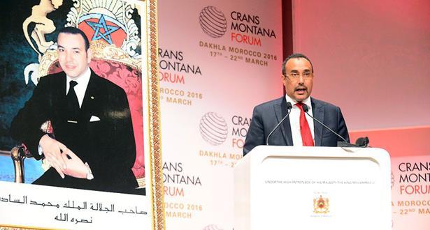 نص الرسالة الملكية السامية إلى المشاركين في أشغال منتدى كرانس مونتانا بالداخلة