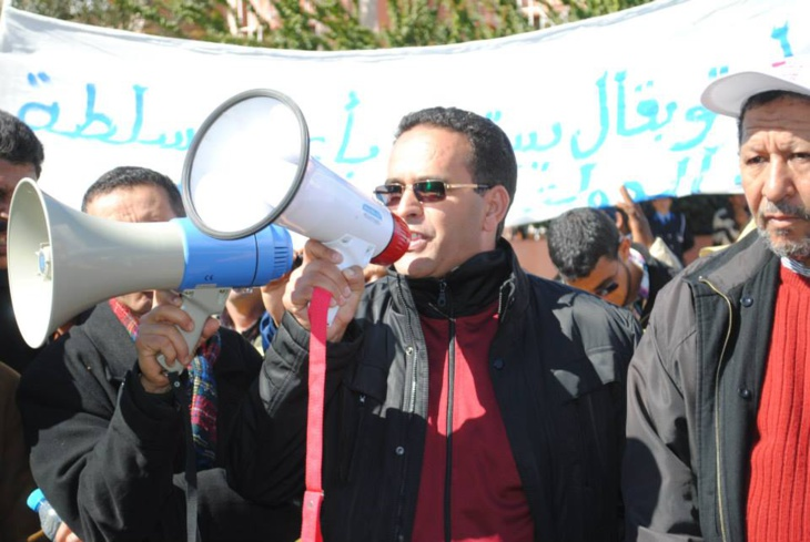 الجمعية المغربية لحماية المال العام تلتقي وسائل الإعلام قبيل وقفتها ضد الفساد أمام البرلمان