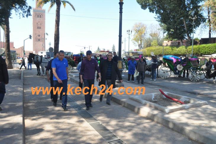 هذا هو القرار الصارم الذي أوصى والي مراكش بتطبيقه خلال زيارته لساحة جامع الفنا
